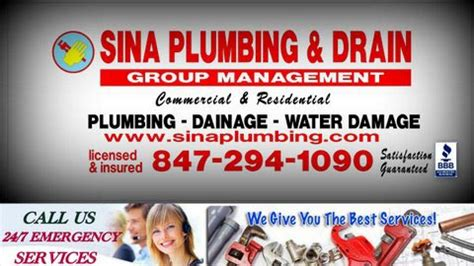 24 7 service master plumbers sina sewer service chicago
