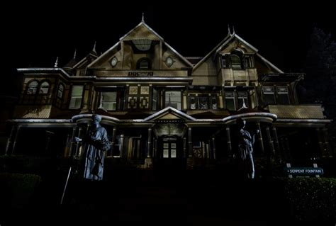 the secret house of halloween candlelight tour winchester mystery house