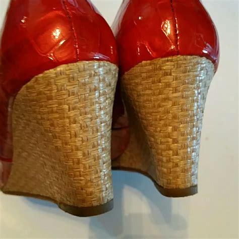 Wedges Mr90 Crocodile 64 59 brighton shoes brighton riva croc leather patton wedge sandal from rosalinda s