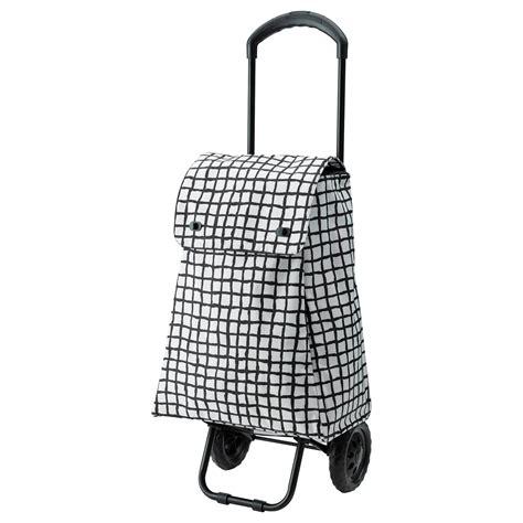 ikea shopping bag knalla shopping bag on wheels black white ikea