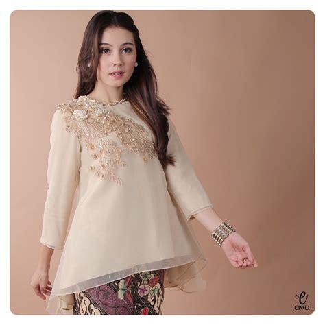 Batik Modern Organza simple sleeve lace organdy organza applique organdi