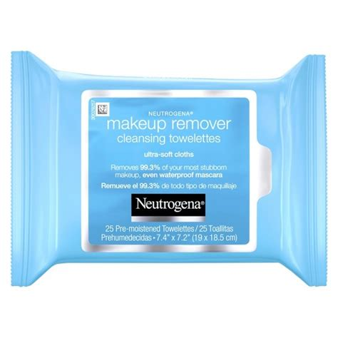 Makeup Remover Pac by Neutrogena 174 Makeup Remover Cleansing Towelettes Wipes