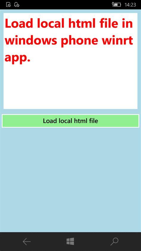 xamarin tutorial webview 6 output