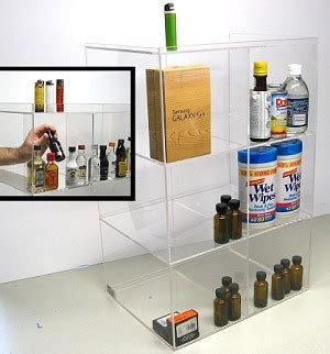 Commercial Display 6 Bin Tall 50ml Liquor Shot Bottles