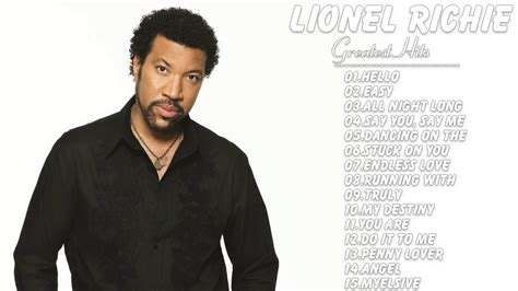 Lionel Richie Calls Himself The Greatest by Lionel Richie Lionel Richie Greatest Hits Album
