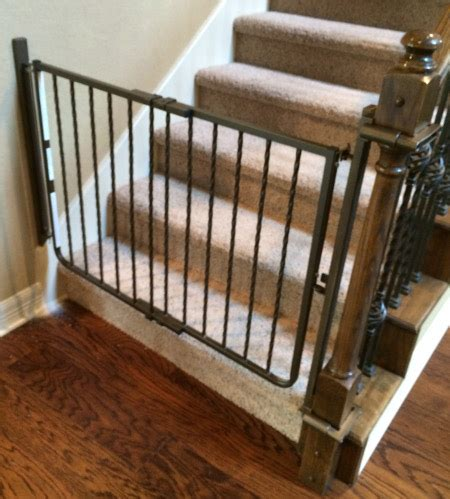child safety gates for stairs with banisters custom baby safety stair gate baby safe homes