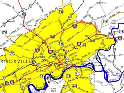 east tennessee road map tennessee aaroads interstate 40 west carolina