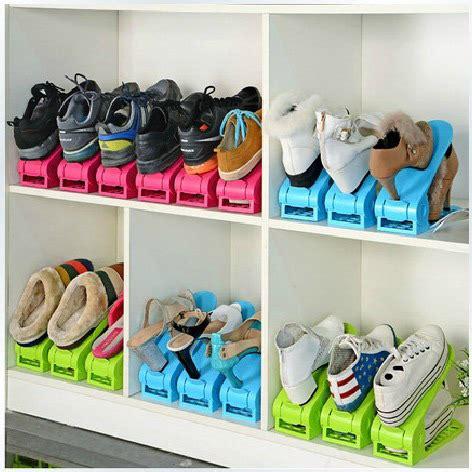 space saving shoe storage 2pcs lot shoes rack shoes organizer space saving shoes