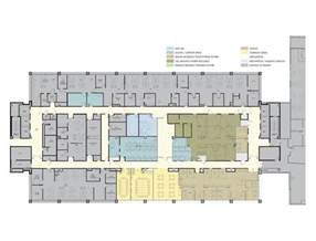 Cancer Center Floor Plan by Blair Mui Dowd Architects Pc
