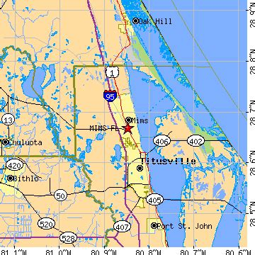 mims florida map mims florida fl population data races housing economy