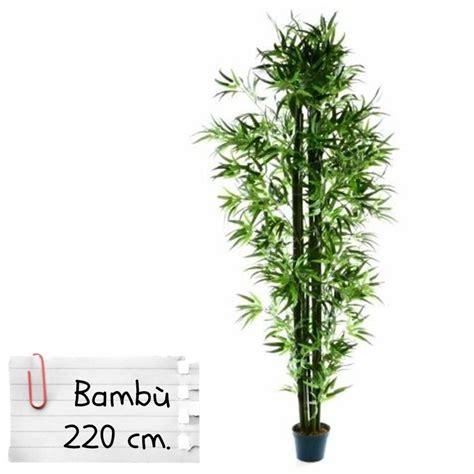 piante artificiali da interno piante finte artificiali da arredo interno bamb 249 220 cm