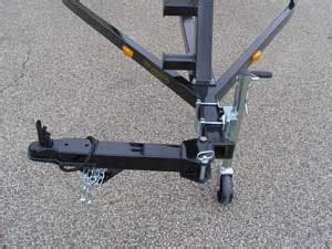 trailer swing tongue tandem axle trailers for pontoon boats