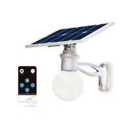 eclairage solaire extrieur intelligent lune 8w 25w sur
