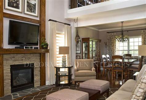 Den Interior Design by Bohnne Jones Decorating Den Interiors Living Rooms