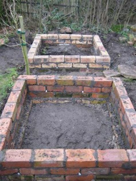 how to build a raised bed diy brick raised garden beds