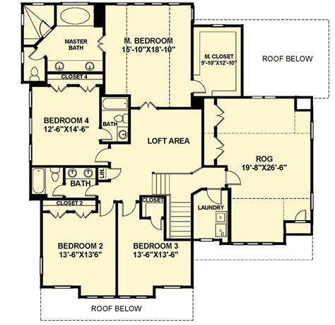 farmhouse floor plans with pictures open floor plan farmhouse 30081rt architectural