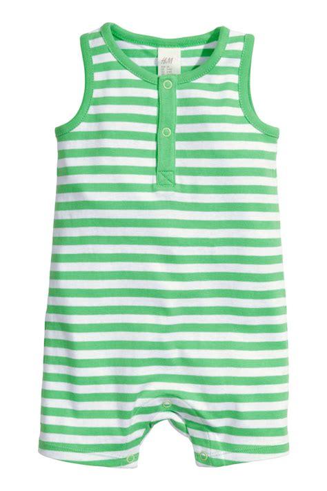 Jumpsuit Next Bean 3 In 1 Size 6m jersey jumpsuit green sale h m us