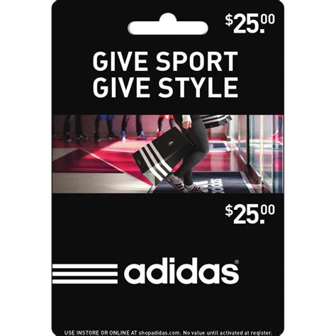 Adidas Gift Card - adidas gift card apparel seasonal gifts shop the exchange
