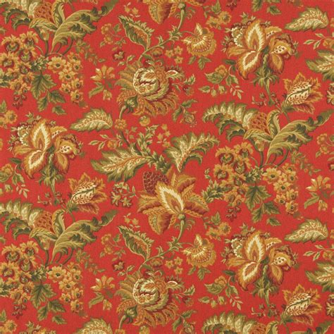 poppy upholstery fabric poppy beige and burgundy floral marine upholstery fabric