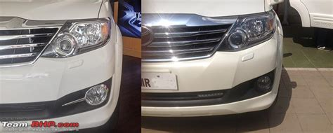 Fortuner Time F010 Black Leather List White 2015 the updated innova and fortuner now with a 2 5l variant page 7 team bhp