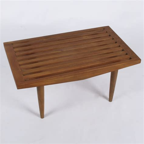 coffee table benches small slatted bench coffee table at city issue atlanta