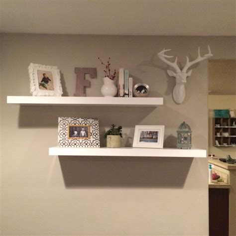 floating shelves design the beauty of this bookcase display is the common thread