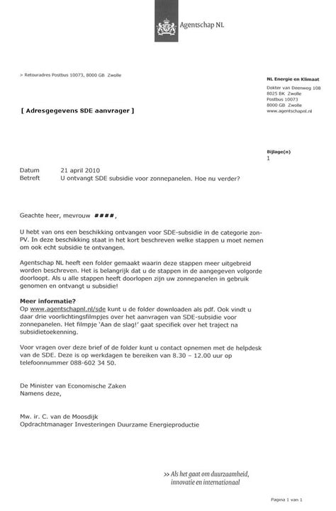 Officiele Briefformat Formele Brief Voorbeeld Quotes