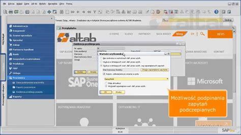 tutorial sdk sap business one sap business one elementy sdk tworzenie obiekt 243 w