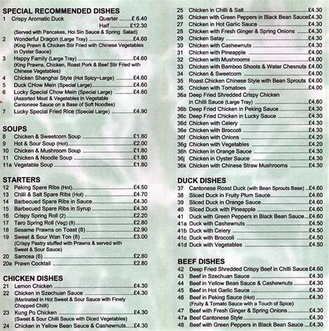 Lucky House Menu by New Lucky House Takeaway On Stoughton Rd