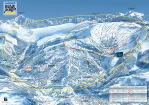 Piste map samoens flaine grand massif high resolution quality