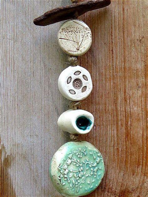stehle treibholz garten windspiel green fall aus keramik mit treibholz