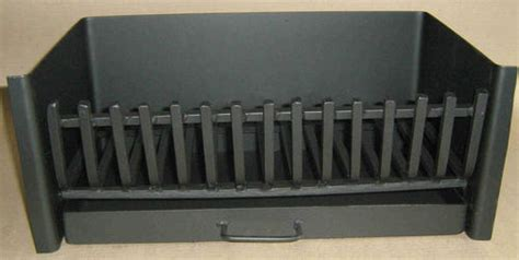 fireplace grate ash pan combo 35 wide x 26 cm fg1