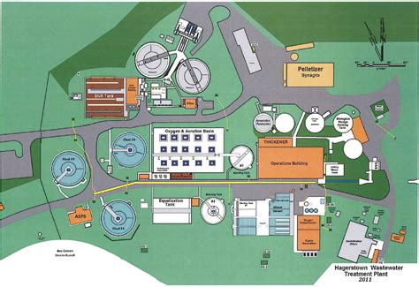 layout plan of water treatment plant hagerstown md official website our system