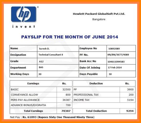 7 salary payment slip employees sales slip template