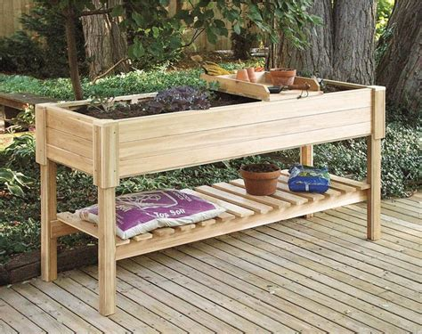 elevated garden beds on legs plans raised garden beds on legs pdf diy raised garden bed plans