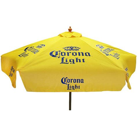 Corona Patio Umbrella Cantina Supplies Xl Corona Lightpatio Umbrella Can274