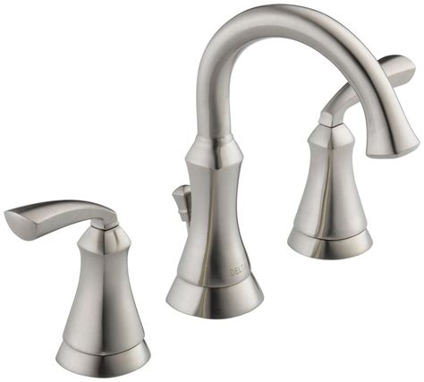Delta Widespread Bathroom Faucets by Faucet 35962lf Ss In Stainless Steel By Delta