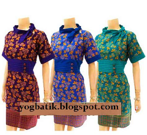 Dress Bunga Biru Kerut batik yogya murah 04 19 13