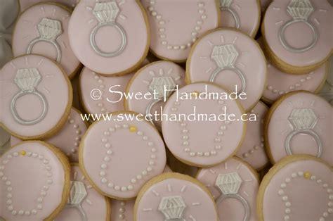 Handmade Cookies - sweet handmade cookies bridal shower cookies diamonds