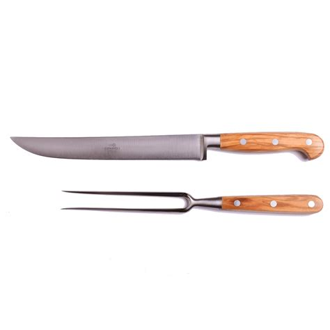 kitchen knife collection olive wood block kitchen knife 8 omero home