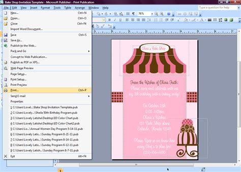 my publisher templates eccentric designs by latisha horton how to make