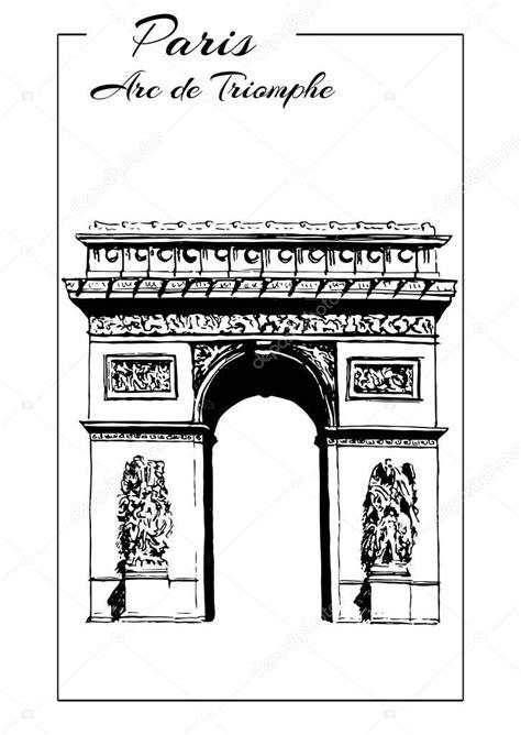 Arco do triunfo, Paris, França. arco do triunfo