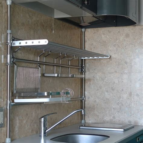 pipe shelves kitchen features that you must look for in buying stainless steel kitchen pipe shelving