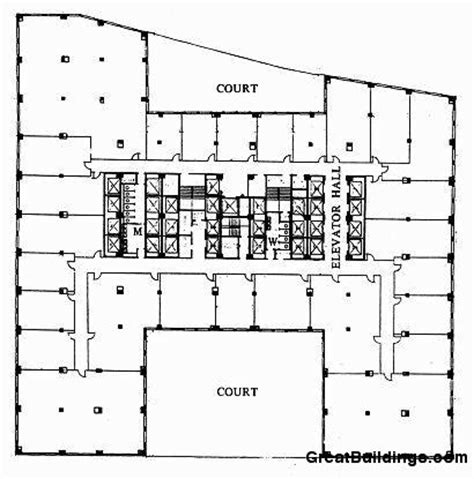 chrysler building floor plan ad classics chrysler building william alen archdaily