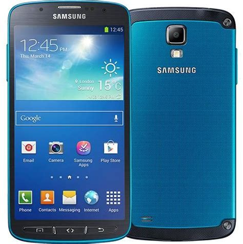 samsung galaxy s4 rugged samsung galaxy s4 active 16gb sgh i537 rugged android smartphone unlocked gsm blue fair