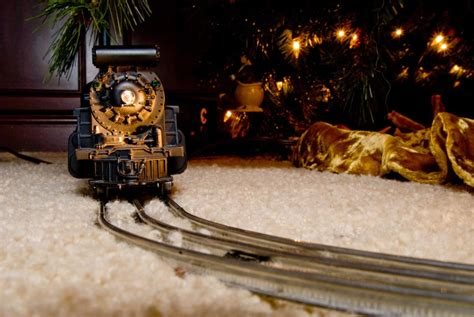 toy that goes around christmas tree why do put trains trees wonderopolis