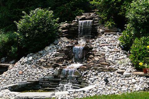 mountain aquascape aquascape mountain landscape contractors