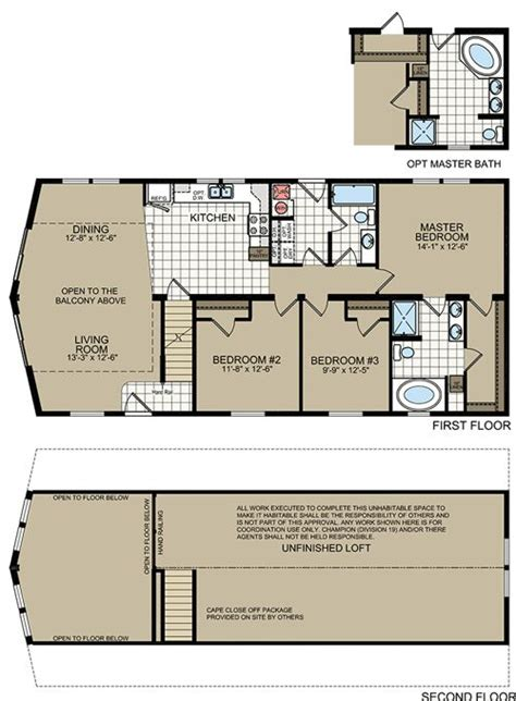 new york modular home floor plans titan 745 cape chalet
