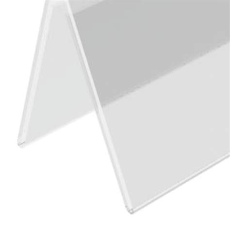 acrylic table tent sign holder