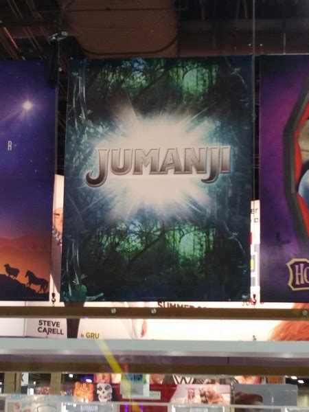 jumanji film poster jumanji starts production and the rock shares a set video